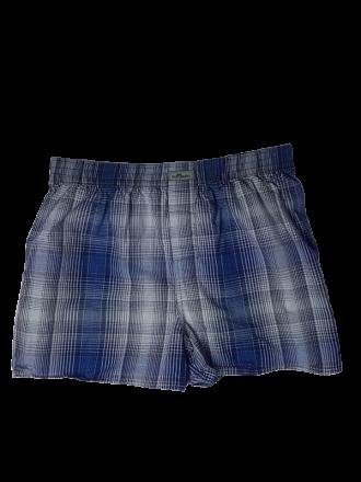 Herren Unterwäsche Comazo Lieblingswäsche Boxershorts in blau/kariert