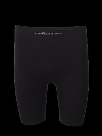 Comazo Funktionswäsche, Pants mit längerem Bein für Herren in schwarz - Vorderansicht