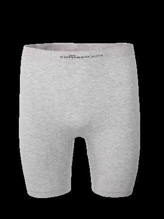 Comazo Funktionswäsche, Pants mit längerem Bein für Herren in grau-melange - Vorderansicht