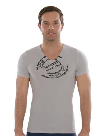 Comazo Biowäsche, Shirt in kalkstein - Vorderseite