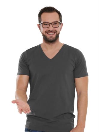 Comazo Lieblingswäsche Basic Shirt für Herren in anthrazit