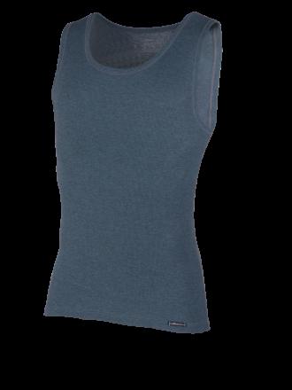 Comazo Funktionswäsche, Shirt ohne Arm für Herren in blue