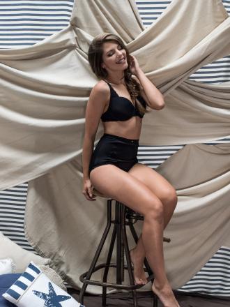 Comazo Shapewear, Miederhose hochtailliert für Damen - optimale Formgebung