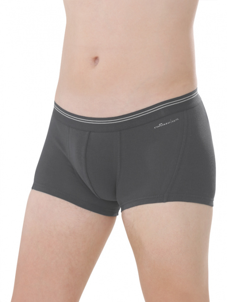 Comazo Biowäsche,Short-Pants für Herren in anthrazit - Vorderansicht