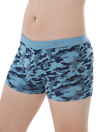 Comazo Biowäsche, Short-Pants für Männer in gewitter - Vorderansicht