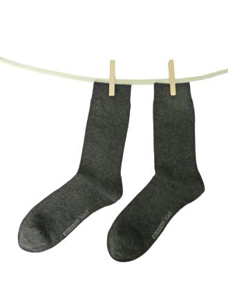 Comazo Socken, Socken für Herren anthrazit - Vorderansicht