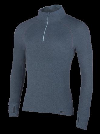 Comazo Funktionswäsche, Langarm Shirt für Herren in blue