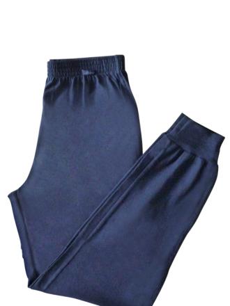 Comazo Nachtwäsche, Schlafhose für Herren in navy - Vorderansicht