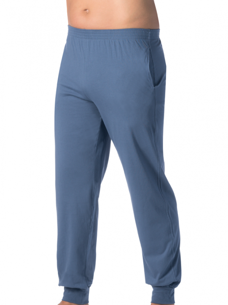 Comazo Lieblingswäsche Herren Hose  lang mit Bündchen in jeans