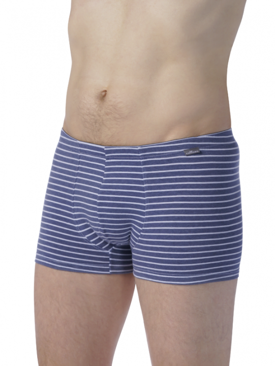 Comazo Unterwäsche Herren Trunks in blau
