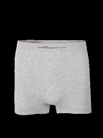 Comazo Funktionswäsche, Seamless Trunks in grau-meliert - Vorderansicht