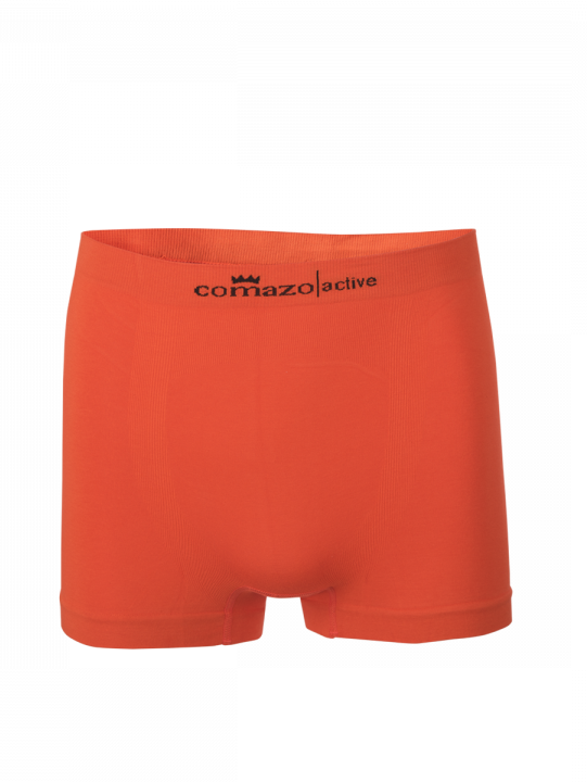 Comazo Funktionswäsche, Seamless Trunks in orange - Vorderansicht