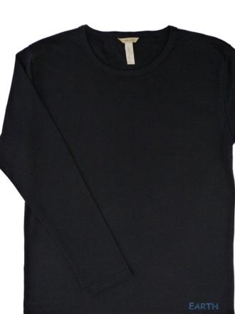 Comazo Biowäsche, Shirt in schwarz- Vorderansicht