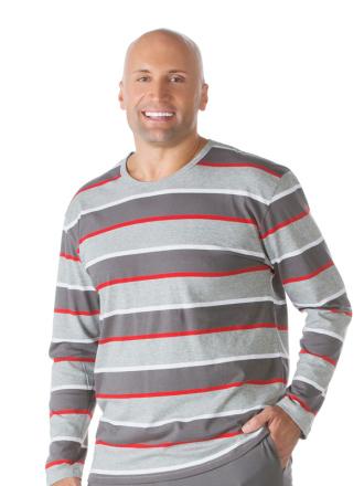 Comazo Shirt für Herren in grau -Vorderansicht