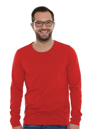 Comazo Lieblingswäsche Basic Shirt für Herren in apfelrot