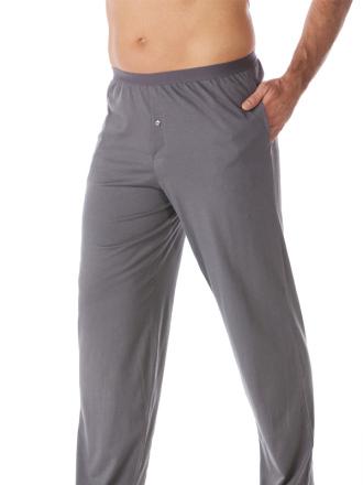 Comazo Schlafhose für Herren in grau - Vorderansicht