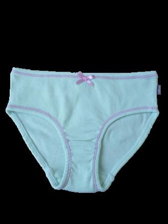 Comazo Lieblingswäsche Kindern Mädchen Slip mit Zierschleife in mint
