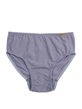 comazo Biowäsche,  Slip für Mädchen in sweet lavender - Vorderansicht