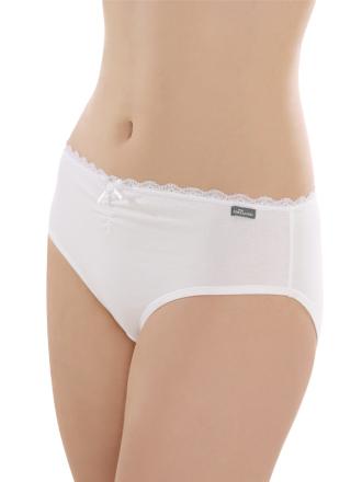 Comazo Unterwäsche, Slip für Mädchen in weiss - Vorderansicht