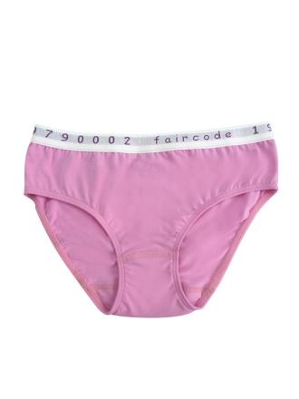 Comazo Biowäsche, Slp für Mädchen in pink - Vorderansicht