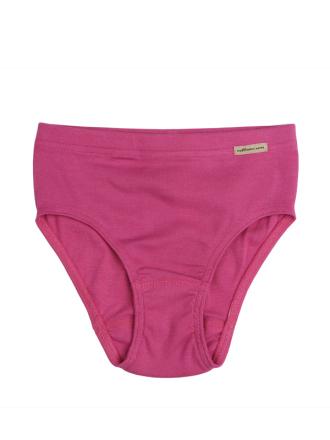 Comazo Biowäsche, Slip für Mädchen in clematis - Vorderansicht
