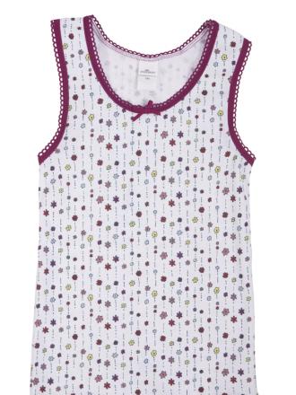Comazo Lieblingswäsche, Unterhemd mit Achselträgern in bedruckt