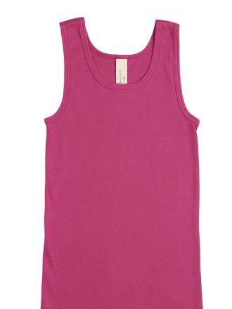 Comazo Biowäsche, Unterhemd für Mädchen und Knaben in clematis - Vorderansicht