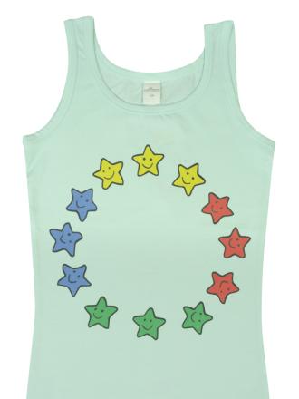 Comazo Lieblingswäsche Mädchen Unterhemd in mint