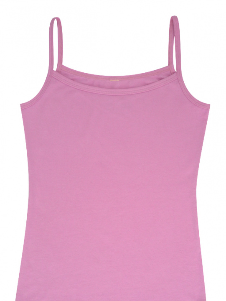 Comazo Biowäsche, Unterhemd für Mädchen in pink - Vorderansicht