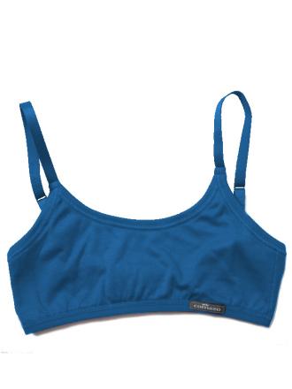 Comazo Unterwäsche, Bustier für Mädchen in blue - Vorderansicht