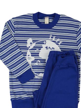 Comazo Langarm Schlafanzug für Jungen- Vorderansicht
