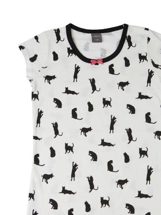 Comazo Nachthemd für Mädchen creme- Vorderansicht