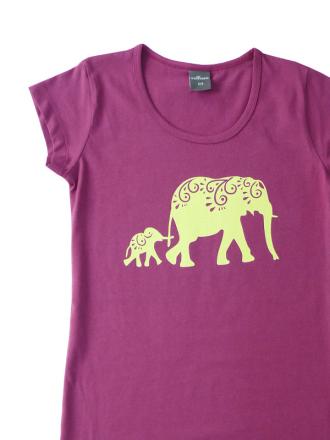 Comazo Nachthemd für Mädchen beere- Vorderansicht