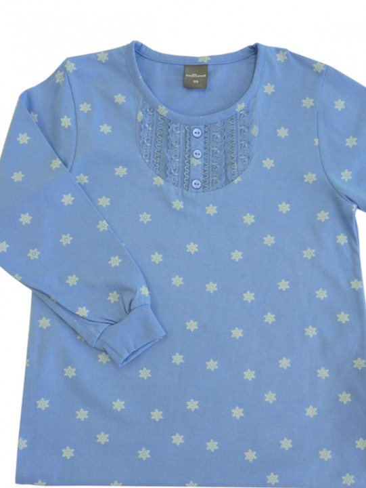 Comazo Nachthemd für Mädchen in denim - Vorderansicht