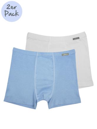 Comazo Lieblingswäsche Jungen Trunks in weiss/blau