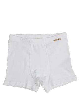 Comazo Biowäsche, Pants für Knaben in weiss - Vorderansicht