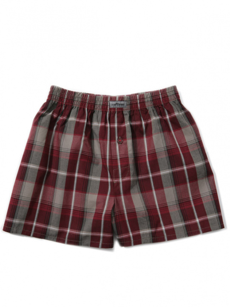 Comazo Unterwäsche, Boxer-Shorts für Knaben in bordeaux - Vorderansicht