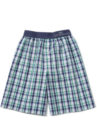 Comazo Unterwäsche, Bermuda-Shorts für Knaben in weiss - Vorderansicht