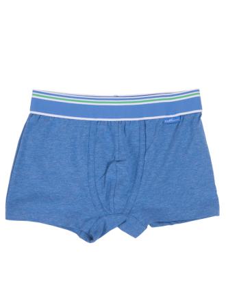 Comazo Unterwäsche, Trunks für Knaben in blau-melange