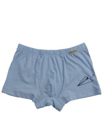 comazo Biowäsche, Pants für Jungen in himmel  - Vorderansicht