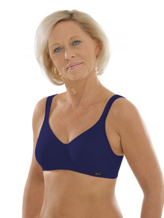 Comazo Unterwäsche, Komfort-BH für Damen in nachtblau - Vorderansicht