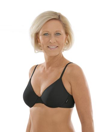 Comazo Unterwäsche, Spacer-BH für Damen in schwarz - Vorderansicht