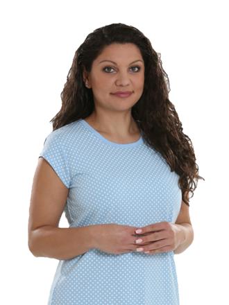 Comazo Sleepshirt für Damen - Vorderansicht