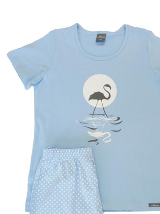 Comazo Langarm Schlafanzug für Mädchen - Vorderansicht