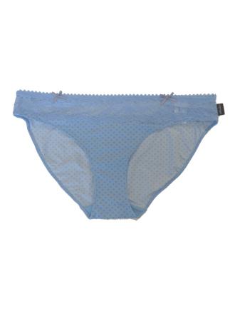 Comazo Unterwäsche, Rio-Slip für Damen in blau - Vorderansicht