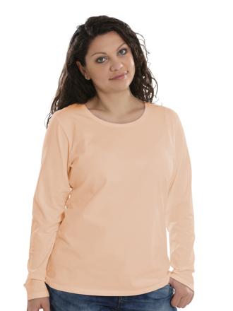 Comazo Lieblingswäsche Basic Shirt, apricot - Vorderansicht