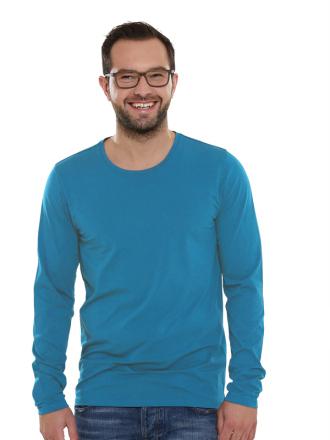 Comazo Lieblingswäsche Basic Shirt langarm für Herren in riviera