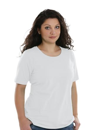 Comazo Lieblingswäsche Basic-Shirt, weiss - Vorderansicht