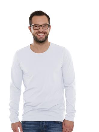 Comazo Lieblingswäsche Basic Shirt, weiss- Vorderansicht