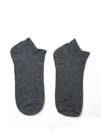 Comazo Unterwäsche Socken Sneaker Herren in grau-melange